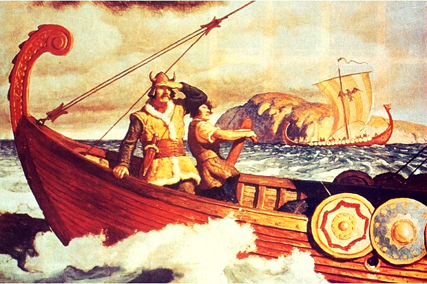 Image of Viking voyage