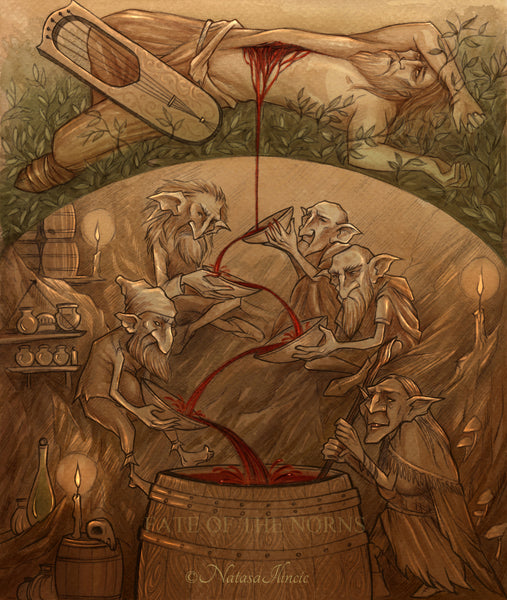 Ten things about dwarves in Norse mythology: Dwarf killed Kvasir to make the Mead of Poetry