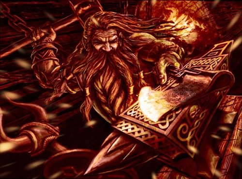 Ten things about Dwarves in Norse mythology: The dwarves were the best blacksmith in Norse mythology