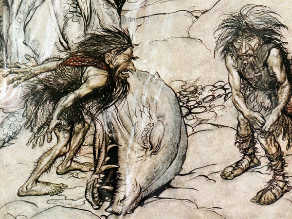 Dwarves were the ugly creatures in Norse mythology