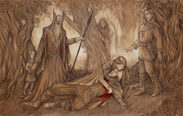 The Death of Baldur in Norse mythology