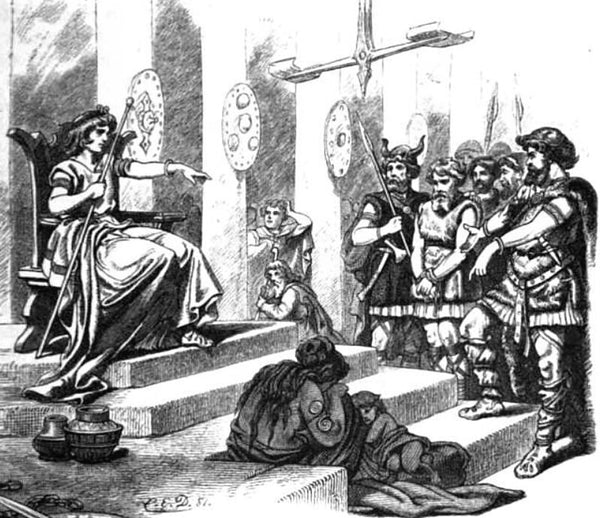 Forseti was the norse god of justice and reconciliation in Norse mythology