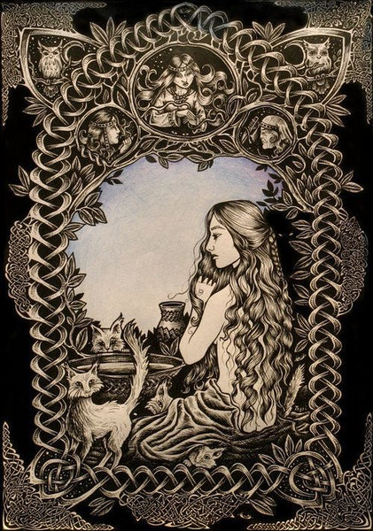 Freya and cats Norse Myth Explained why Freya had to have cats as constant companions?
