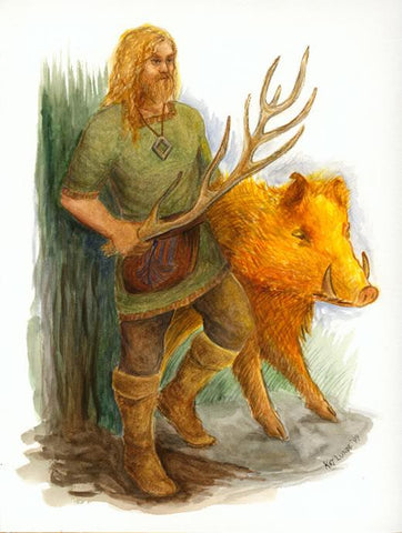 Freyr Norse god of fertility and summer