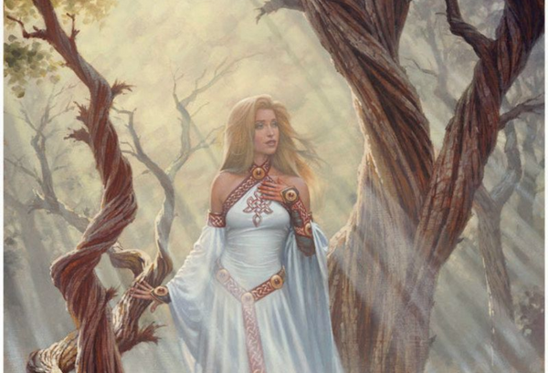 Frigg the Norse goddess of love and motherhood
