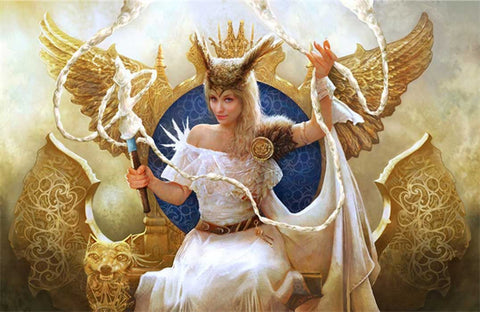 Frigg was the Queen of Asgard in Norse mythology