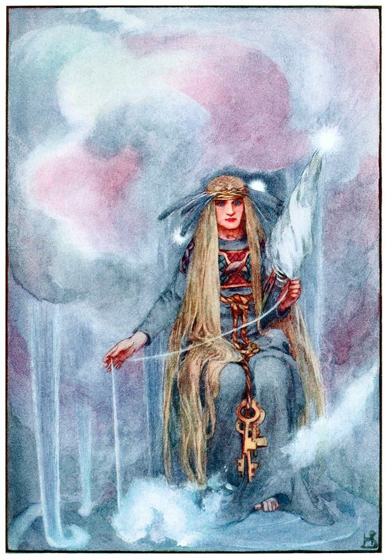 Frigg Norse Goddess in Norse mythology was the goddess of love, marriage, family, and mother