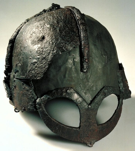 Viking helmet from the Gjermundbu burial mound