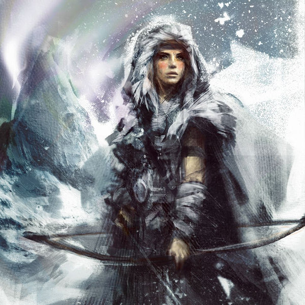 Goddess of winter snow in Norse mythology was Skadi