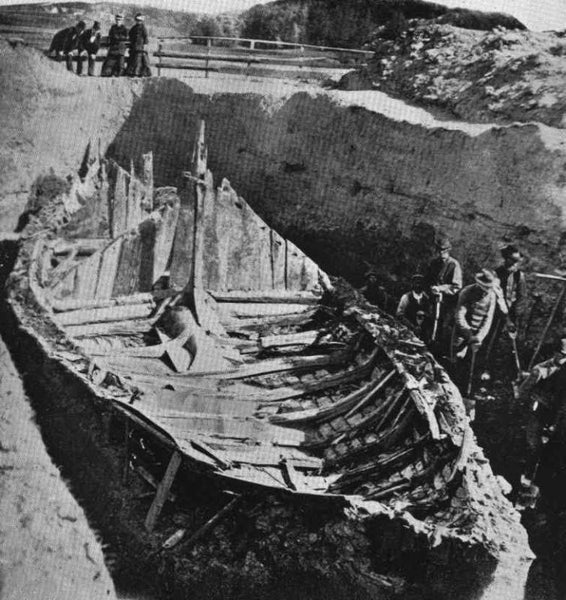Gokstad ship was among the best preserved Viking ship to be excavated.