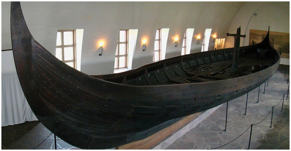 Viking Gokstad ship