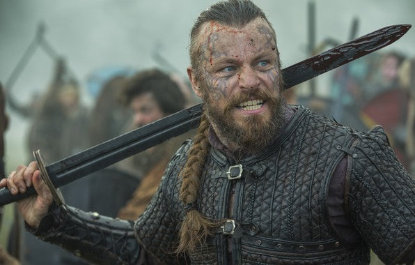 "Harald Fairhair in the TV Series ""Vikings"""