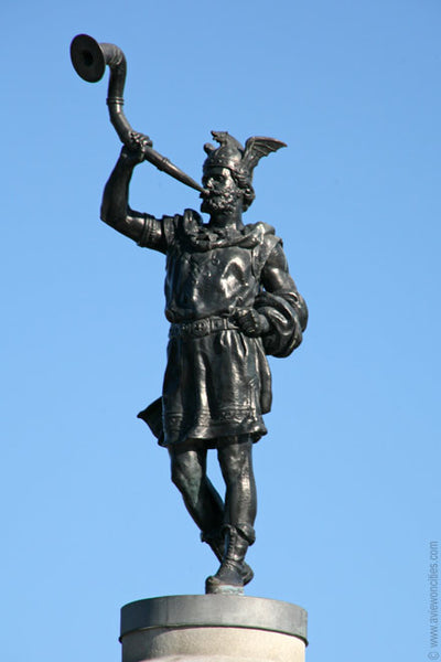 The statue of Heimdall at Stockholm