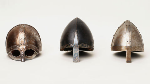 Image of Viking helmets