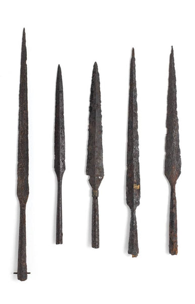 Viking spear artifacts