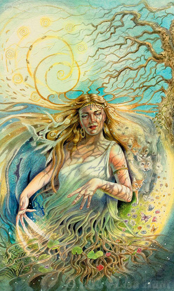 Jord the mother of Thor and the giantess of Earth in Norse mythology