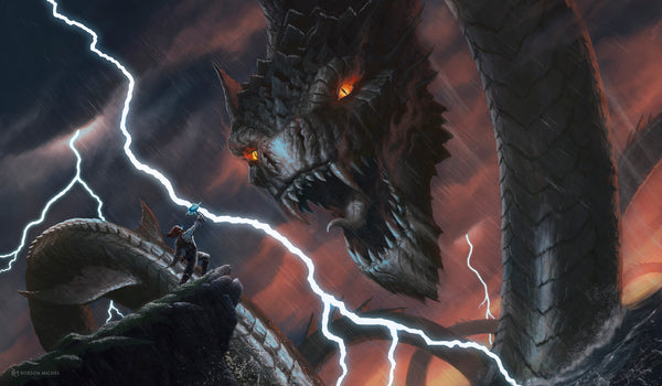 Jormungandr in Norse mythology