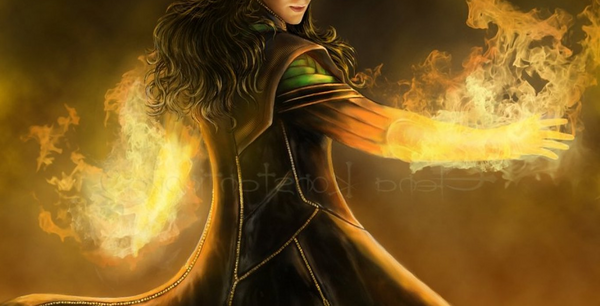 Loki was believed to be the embodiment of fire