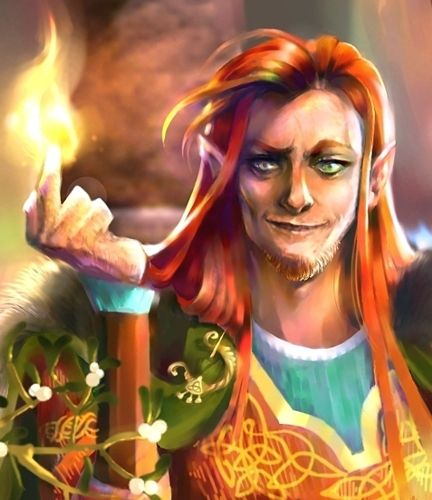 Was Loki Viking god of fire?