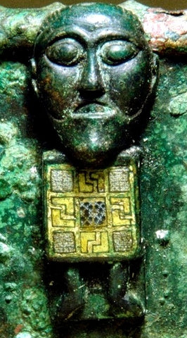 Buddha in Viking burial mound