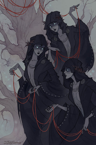 Norse Norns in norse mythology