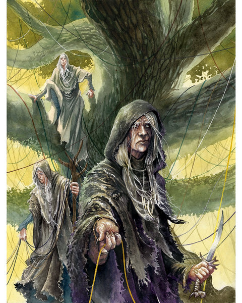 The Norns in Norse mythology