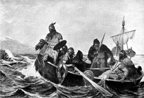 Norsemen sailing Bjarni Herjólfsson refused to explore new land only to come back home and have dinner with his parents as soon as possible