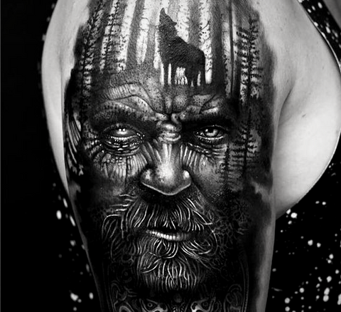 191182af 5 Ideas of Odin's Tattoos for Odin Worshippers - BaviPower Blog