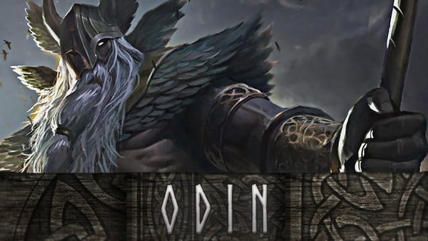 Odin the Allfather in Norse mythology