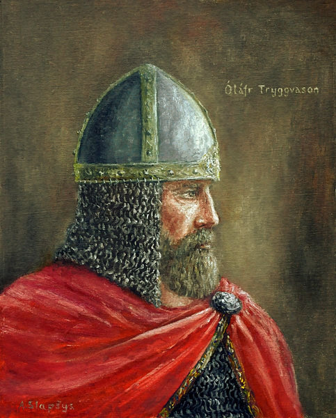 Olaf Tryggvason Viking Christian King of Norway