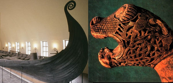 Oseberg ship is among the best preserved Viking ships ever excavated