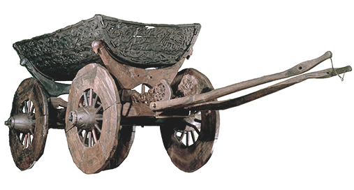 Image of Oseberg cart