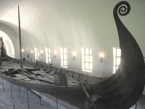 Image of oseberg ship artifacts