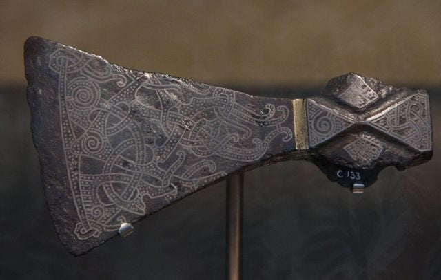 Image of the Viking Mammen axe artifact
