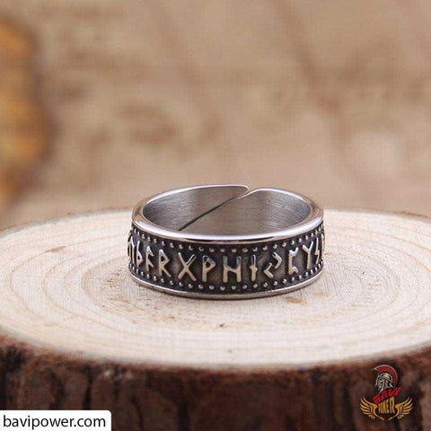 Rune Ring is inspired by the Draupnir ring of Odin the Allfather