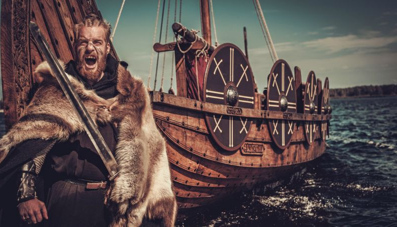 Image of Viking warrior the Vikings
