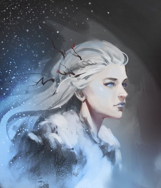 Skadi the giantess of ice and winter in Norse mythology