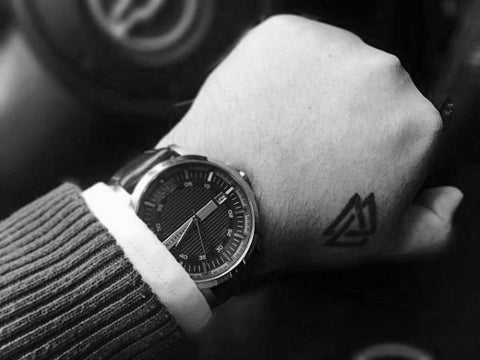 Image of Viking Valknut tattoo