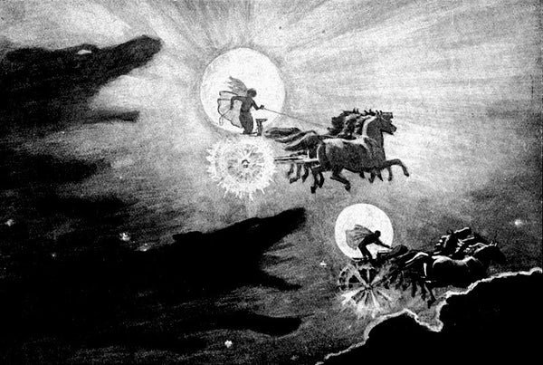 Sun and Moon in Norse mythology