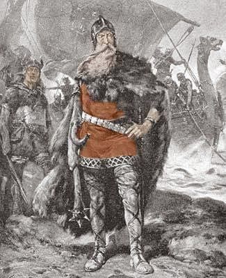 Sweyn Forkbeard succeeded his father Harald Bluetooth to become the King of Denmark