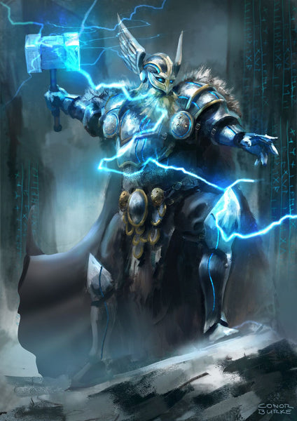Thor God of Thunder and Storm in Norse mythology