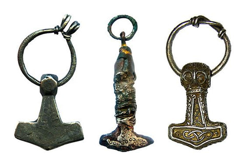 Viking Jewelry Thor Hammer Pendant found in the territory of Russia and Ukraine