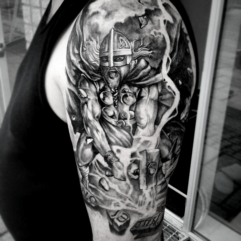 Viking Tattoo Thor Tattoo