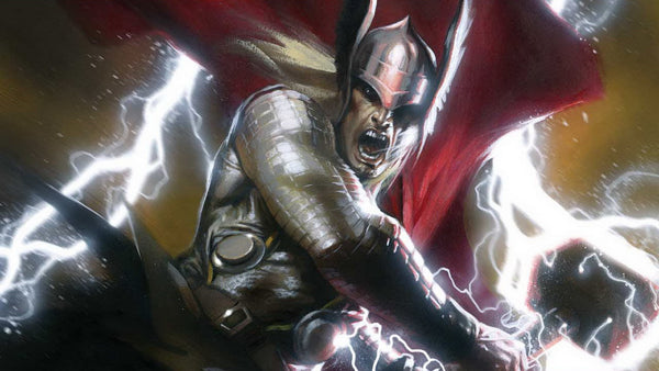 Thor the Powerful God of Thunder and Storm