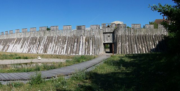 Trelleborgen fort in Skane, Sweden