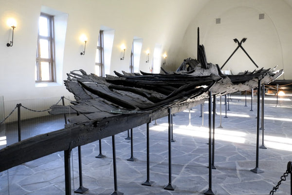 Viking Tune ship was the first Viking ship to be excavated yet it was heavily damaged during its excavation