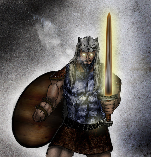 God Tyr in Norse mythology
