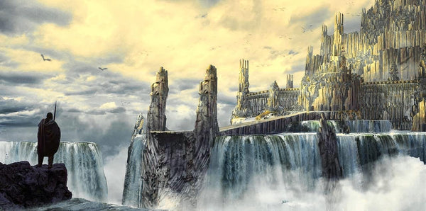 Valhalla the Great Hall of Odin the Allfather