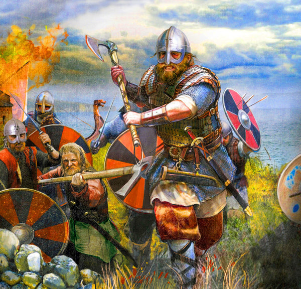 Viking warrior. Although Harald Hardrada had no title of Prince, he could win the hand of a princess. What he had done proved he was more than a prince