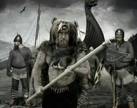 Viking berserkers and Nine Viking Noble Virtues that guides a healthy lifestyle